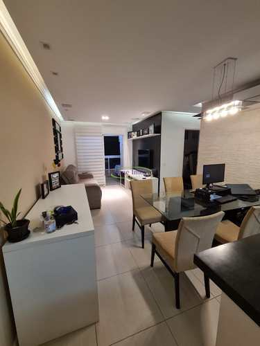 Apartamento, código 64152960 em Santos, bairro Ponta da Praia