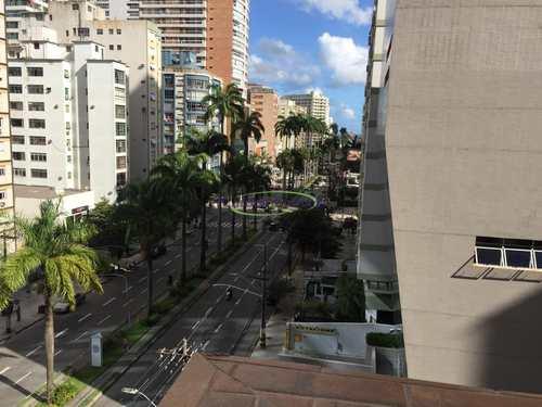 Apartamento, código 64153047 em Santos, bairro Gonzaga