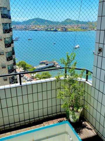 Apartamento, código 64153050 em Santos, bairro Ponta da Praia