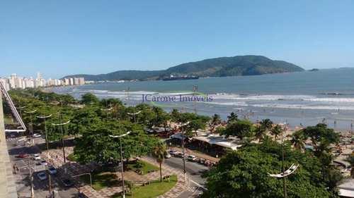 Apartamento, código 64153069 em Santos, bairro Boqueirão