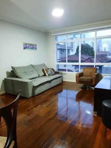 Apartamento, código 64153091 em Santos, bairro Boqueirão