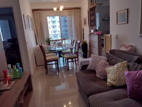 Apartamento, código 64153123 em Santos, bairro Marapé