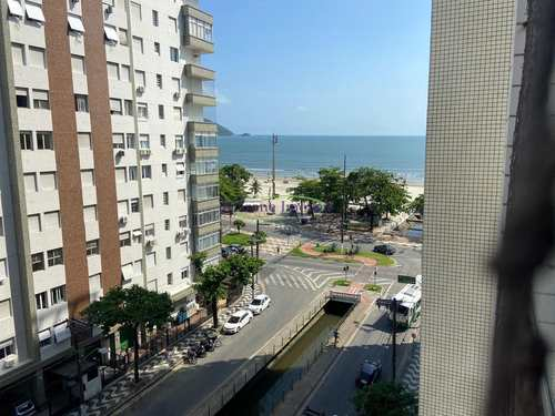 Apartamento, código 64153156 em Santos, bairro Boqueirão