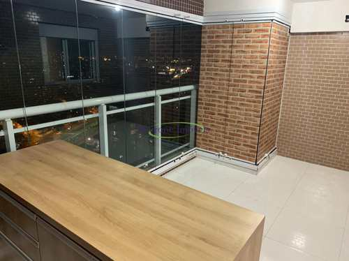 Apartamento, código 64153170 em Santos, bairro Pompéia