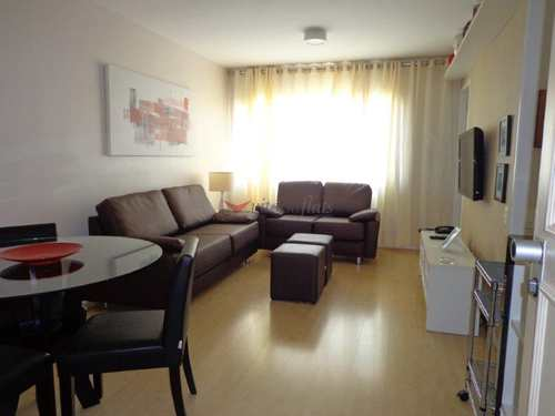 Flat, código 64375883 em São Paulo, bairro Itaim Bibi
