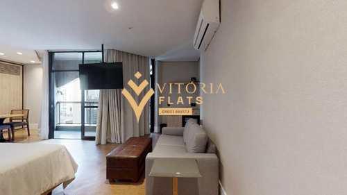 Flat, código 64367574 em São Paulo, bairro Jardim Europa