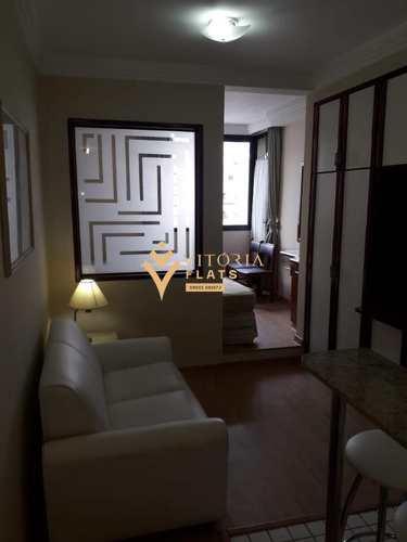 Flat, código 64235957 em São Paulo, bairro Cerqueira César