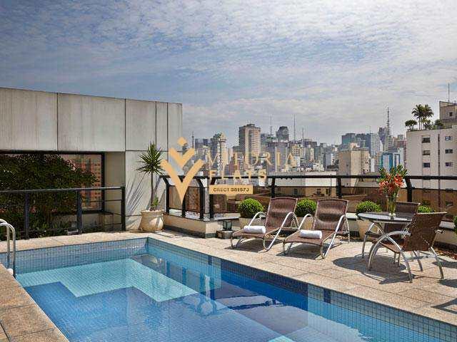Flat em São Paulo, no bairro Jardim Paulista