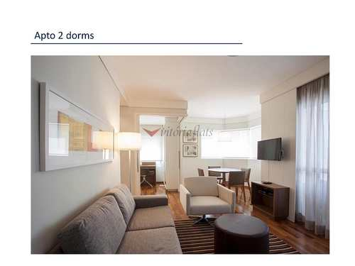 Flat, código 59241838 em São Paulo, bairro Vila Olímpia