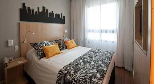 Flat, código 53260046 em São Paulo, bairro Pinheiros