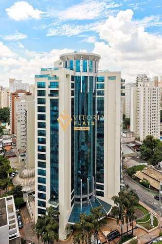 Flat, código 64426483 em São Paulo, bairro Indianópolis