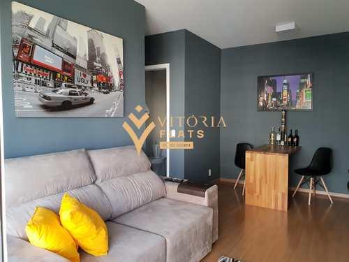 Flat, código 64426513 em São Paulo, bairro Brooklin Novo