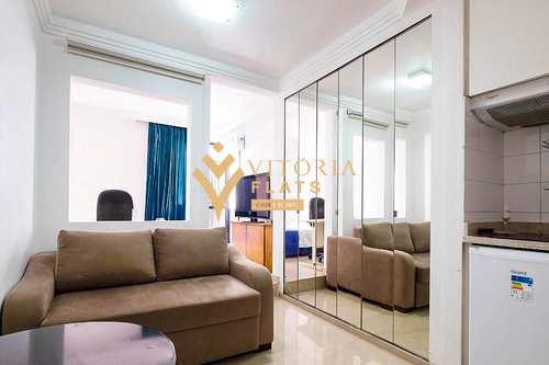 Flat, código 64451404 em São Paulo, bairro Cerqueira César