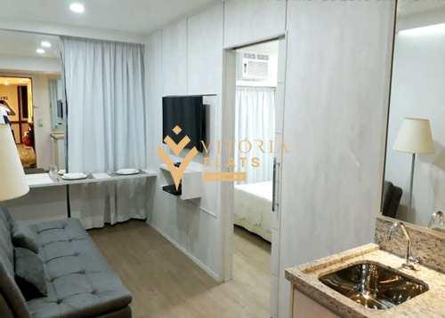 Flat, código 64445497 em São Paulo, bairro Vila Clementino