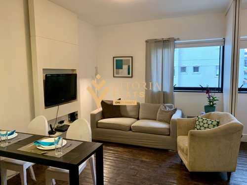 Flat, código 64426945 em São Paulo, bairro Jardim Paulista