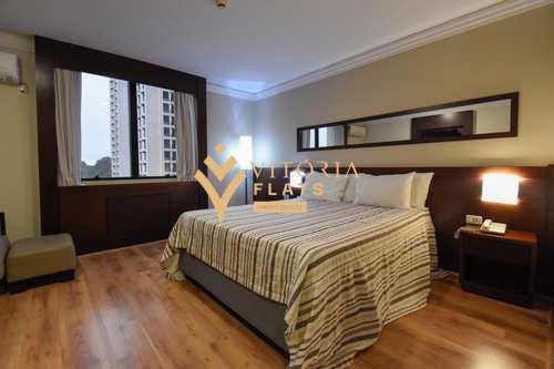 Flat, código 64460122 em São Paulo, bairro Campo Belo