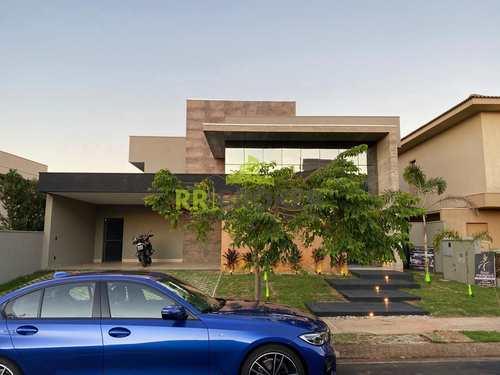 Casa de Condomínio, código 9 em São José do Rio Preto, bairro Residencial Quinta do Golfe