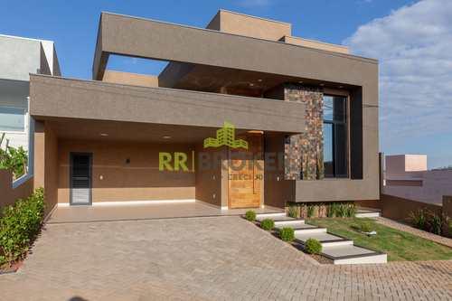 Casa de Condomínio, código 58 em São José do Rio Preto, bairro Quinta do Lago Residence