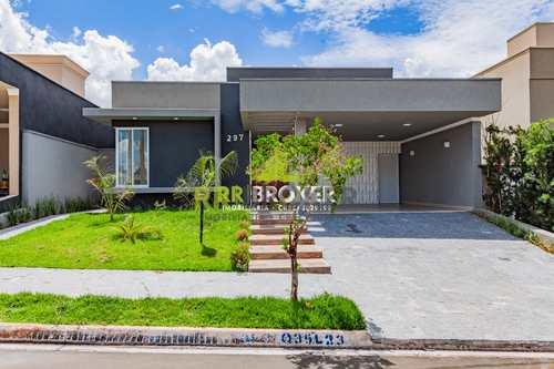 Casa de Condomínio, código 336 em São José do Rio Preto, bairro Loteamento Recanto do Lago