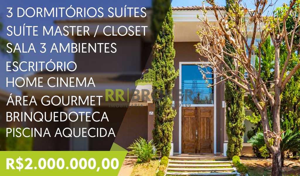 Casa de Condomínio em São José do Rio Preto, bairro Parque Residencial Damha IV