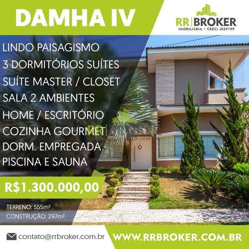 Casa de Condomínio, código 388 em São José do Rio Preto, bairro Parque Residencial Damha IV
