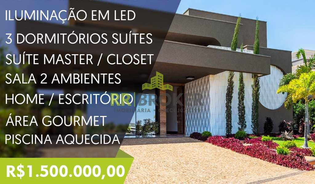 Casa de Condomínio em São José do Rio Preto, bairro Parque Residencial Damha VI