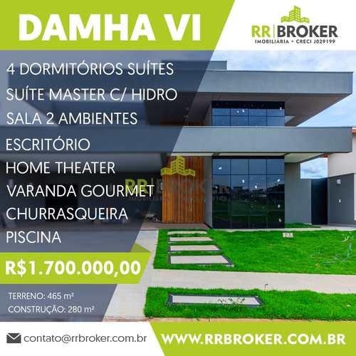 Casa de Condomínio, código 402 em São José do Rio Preto, bairro Parque Residencial Damha VI