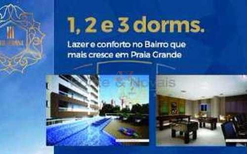Apartamento, código 561 em Praia Grande, bairro Boqueirão