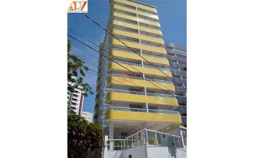 Apartamento, código 424 em Praia Grande, bairro Mirim