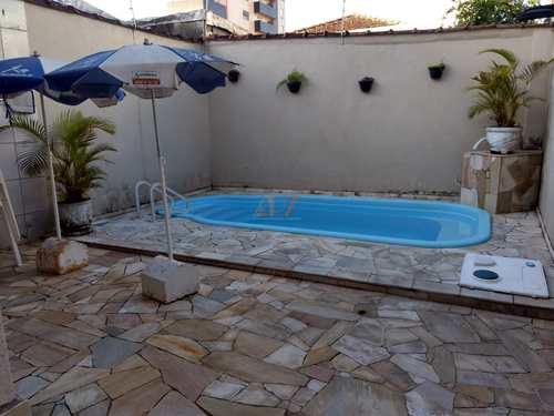 Casa, código 2186 em Praia Grande, bairro Guilhermina