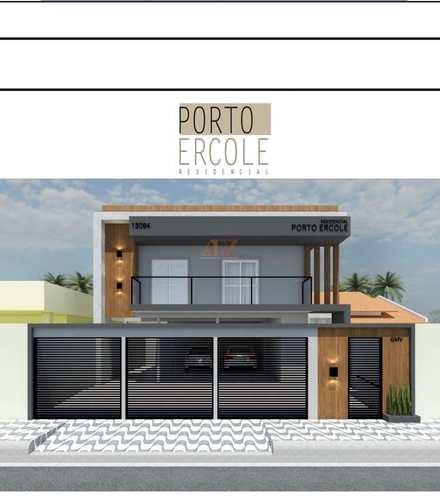 Apartamento, código 2364 em Praia Grande, bairro Andaraguá