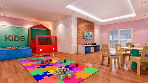 Apartamento, código 2435 em Praia Grande, bairro Maracanã