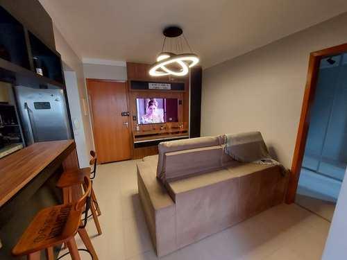 Apartamento, código 3102 em Praia Grande, bairro Boqueirão