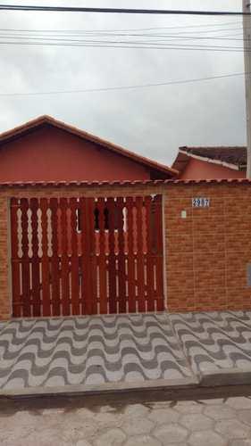 Casa, código 5 em Itanhaém, bairro Balneário Nova Itanhaém