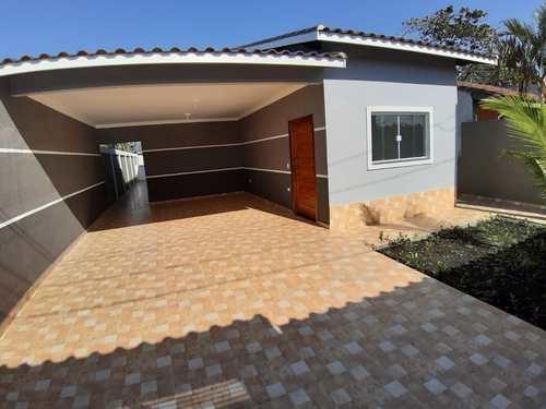 Casa, código 15 em Itanhaém, bairro Balneário Tupy