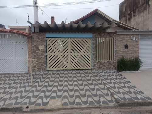 Casa, código 48 em Itanhaém, bairro Satélite