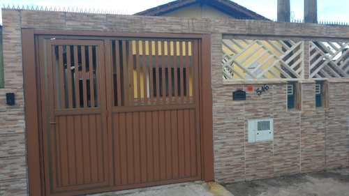 Casa, código 75 em Itanhaém, bairro Campos Elíseos