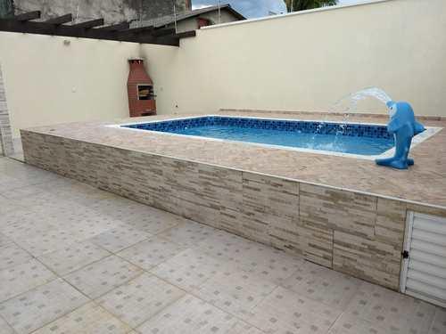 Casa, código 86 em Itanhaém, bairro Jardim Luíza Mar Mirim
