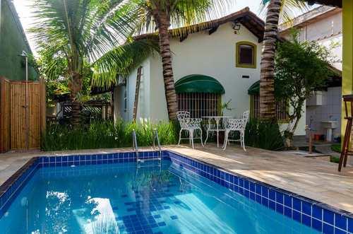 Casa, código 90 em Itanhaém, bairro Jardim Suarão