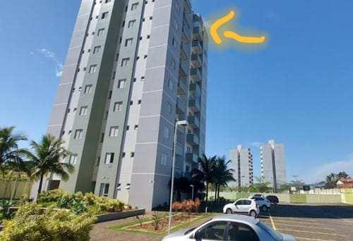 Apartamento em Itanhaém, no bairro Jardim Ibera