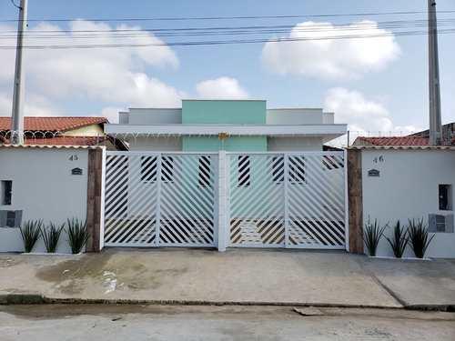 Casa, código 127 em Itanhaém, bairro Balneário Tupy