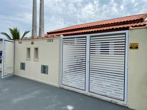 Casa, código 141 em Itanhaém, bairro Balneário Santa Júlia