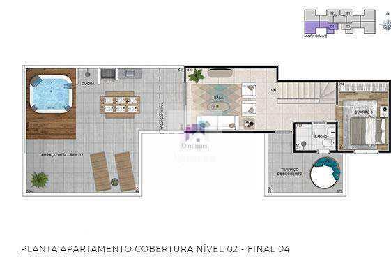 Apartamento em Belo Horizonte, no bairro Colégio Batista