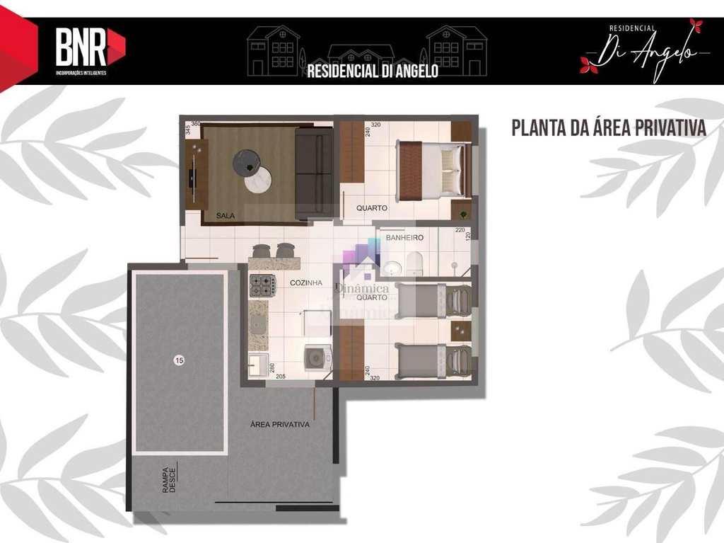 Apartamento em Belo Horizonte, no bairro Brasil Industrial (Barreiro)