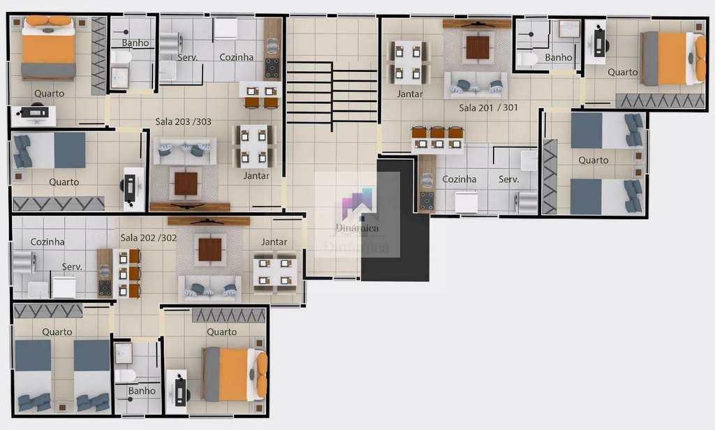 Apartamento em Contagem, no bairro Xangri-Lá