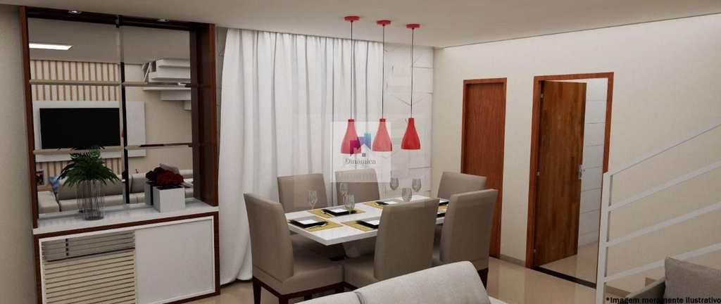 Casa de Condomínio em Belo Horizonte, no bairro Europa