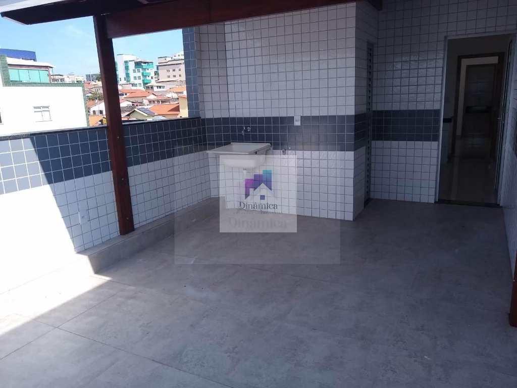 Cobertura em Contagem, no bairro Santa Cruz Industrial