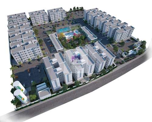 Apartamento, código 186 em Contagem, bairro Três Barras