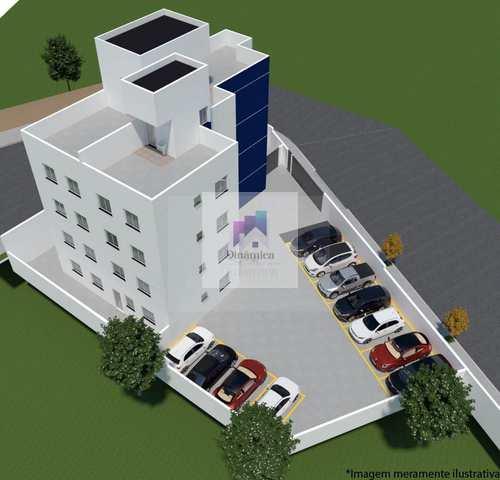 Apartamento, código 394 em Contagem, bairro Xangri-Lá