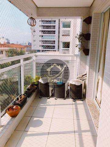 Apartamento, código 64194830 em Santos, bairro Marapé